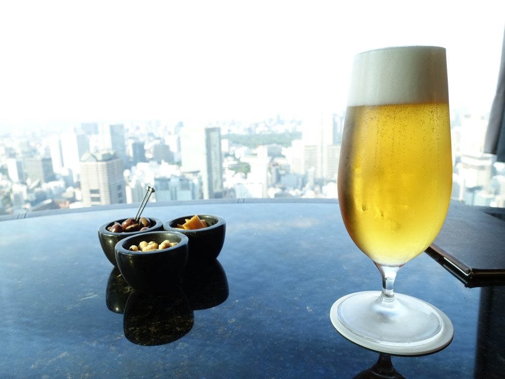 リッツカールトン東京 45階  The Bar で過ごす穏やかな時間