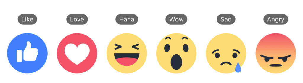Reactions + Labels